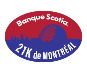 Banque Scotia 21K de Montreal Logo