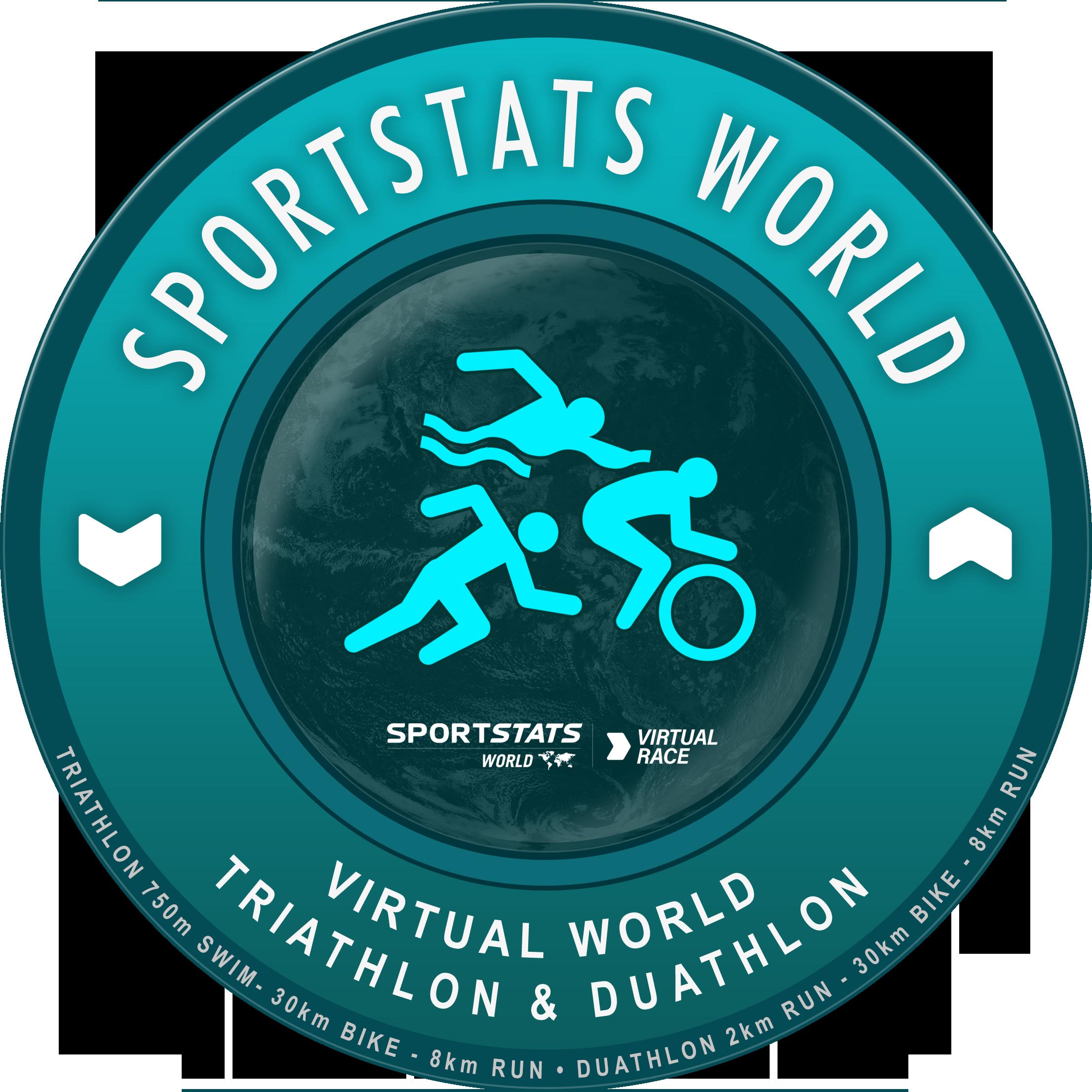 Virtual Triathlon Logo
